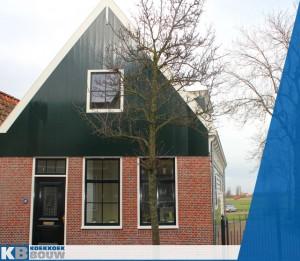 Wilt u een nieuwbouw woning in oude stijl laten bouwen? Koekkoek bouw heeft deze nieuwbouw woning in De Rijp gerealiseerd. Een nieuwbouwwoning in klassiek, oud hollandsche stijl.