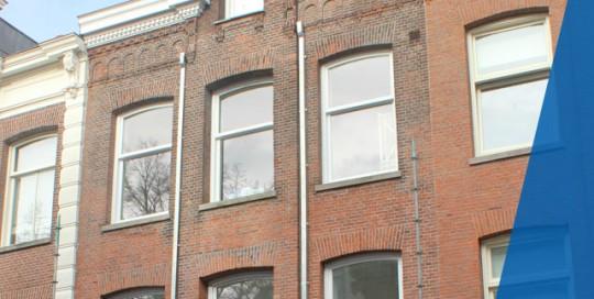 Deze verbouwing aan een historisch Amsterdams huis aan de Vondelstraat is uitgevoerd door Koekkoek bouw.